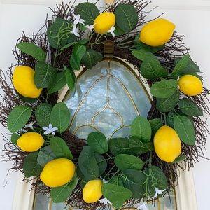 Lemon Wreath! Spring!
